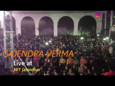 GAJENDRA VERMA LIVE | TERA HI RAHUN | PHIR SUNA | NIT JALANDHAR | ACCOMBLISS