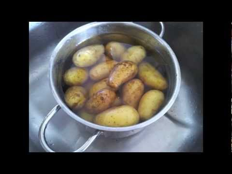 Germany Vlog 10 - How to Cook Potatoes
