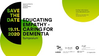 Symposium: Educating Empathie - Caring for Dementia - Green Room