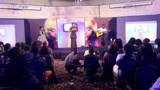 "BECCA PERFORMS ""HW3"" AT GHANA MAKE UP AWARDS 2016"
