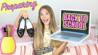 Preparing for my 1st Day BACK TO SCHOOL 2020 | Rosie McClelland
