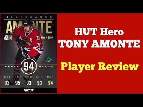 NHL 17 HUT HERO Tony Amonte Player Review - BEST HUT HERO?!!