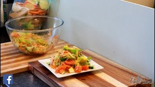 LOSE WEIGHT FAST WITH HEALTHY SALAD .......Chef Ricardo Cooking