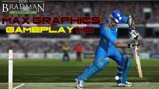 Don Bradman Cricket Gameplay MAX Graphics PC HD