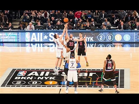 Gasol Brothers Tip-Off the 2015 NBA All-Star Game