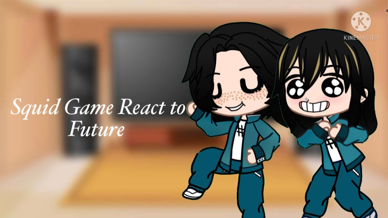 Download Squid Game Reacts to Future 1/1 