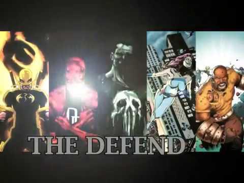 THE DEFENDERS   2017  Marvel, Netflix,TV