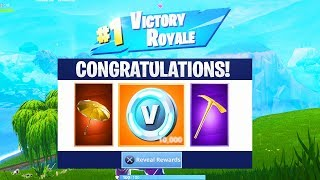 What happens AFTER 1,000 SOLO WINS in Fortnite! (SEASON 6)