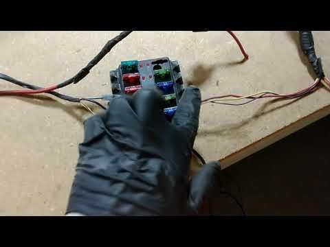 Toyota TDI 4Runner body swap wiring part 2