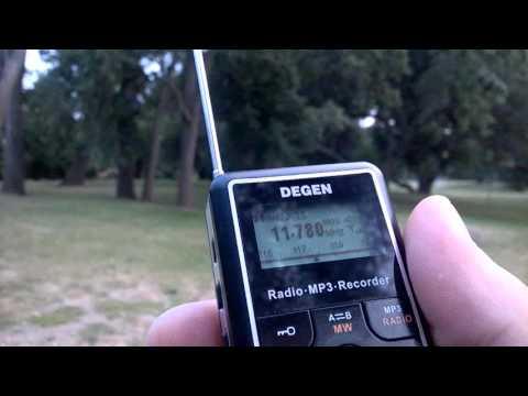 11780 kHz Radio Nacional de Brasilia