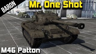 War Thunder Tanks - Mr. One Shot, the M46 Patton Tank!