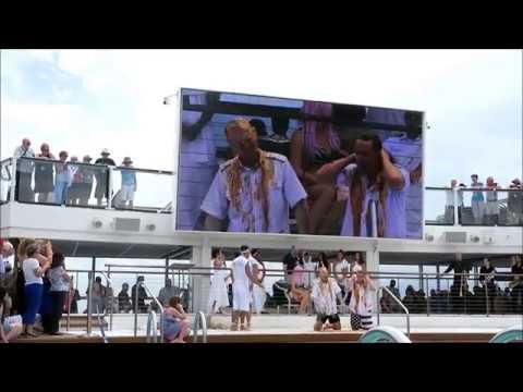 Ovation Of The Seas Equator Ceremony Nov 2017