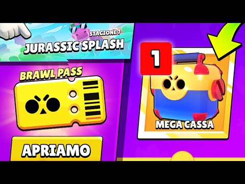 PRIMO PASS GOLD OPENING del CANALE! - Brawl Stars