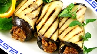 Georgian Eggplant With Walnuts