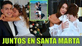 Se Reconciliaron - James Rodriguez y Daniela Ospina Fueron Descubiertos Haciendo Esto en Santa Marta
