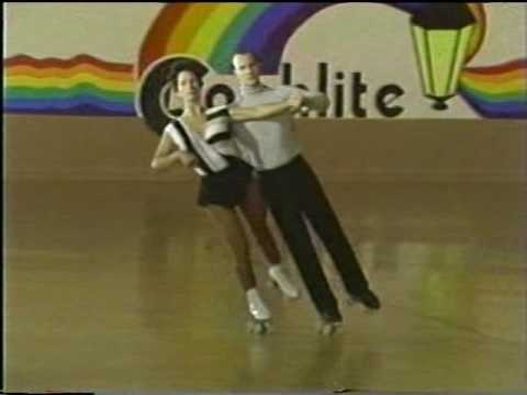 VTS 01 1 American Dance 2-2, Rolller Skating Instructional Video