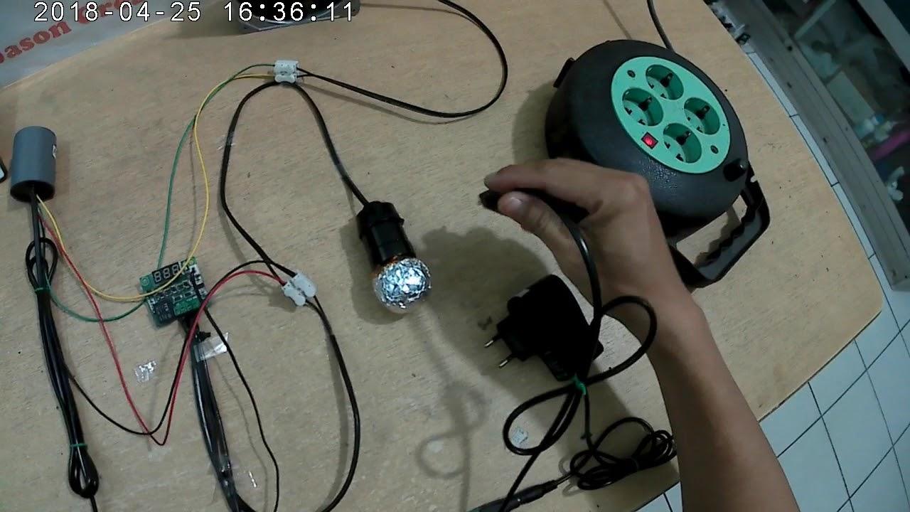 alat kontrol kipas mesin tetas otomatis