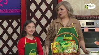 Овощной салат c лапшой и тунцом - Гульнара и Дария Неталиевы - Лучшие Традиции с КЭММИ