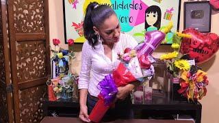¡Bouquet Chico De Chocolates Amor Y Cumpleaños!