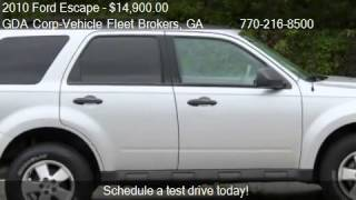 2010 Ford Escape XLT 4WD - for sale in Chamblee, GA 30341