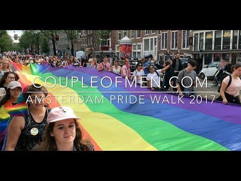 Gay Pride Walk Amsterdam 2017   Coupleofmen.com