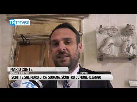 TG TREVISO (13/12/2018) - SCRITTE SUL MURO DI CA' ...