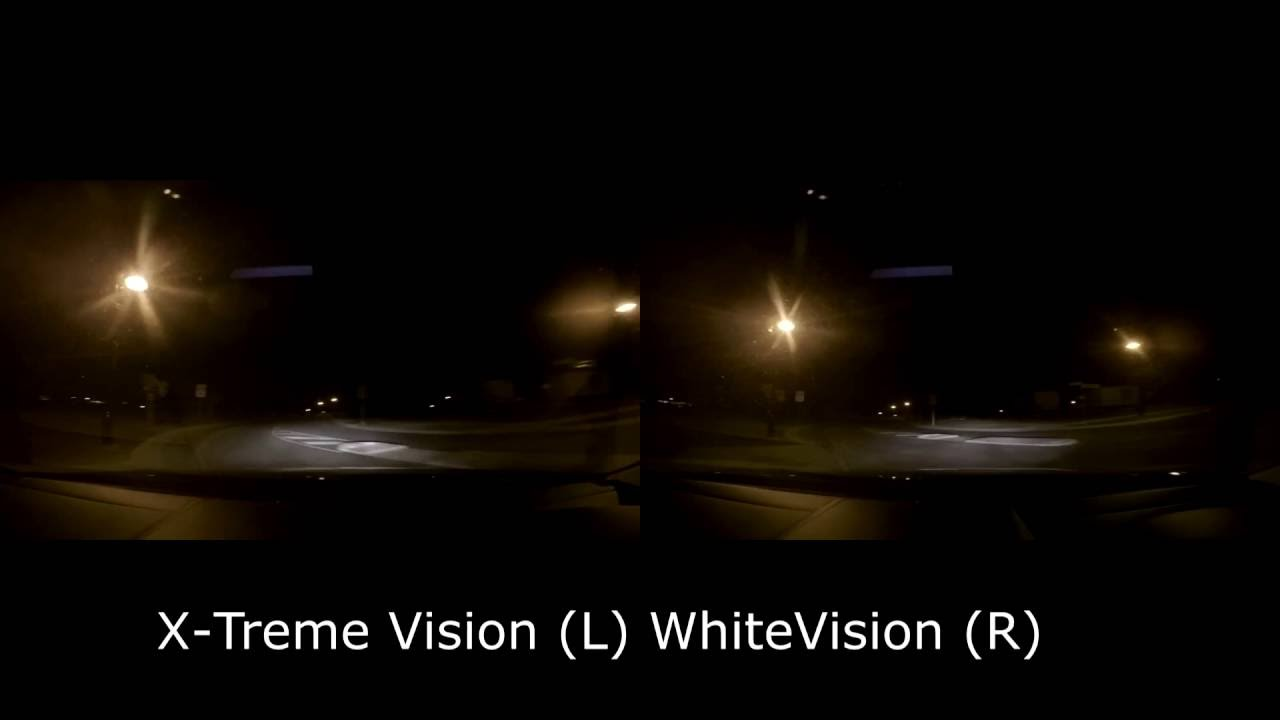 Philips white vision vs xtreme vision