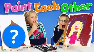 PAINT EACH OTHER CHALLENGE!!!! thumbnail