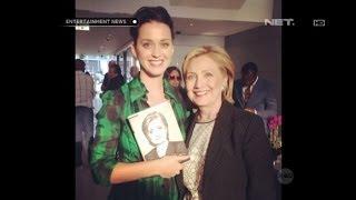 Katy Perry tawarkan diri tulis lagu kampanye