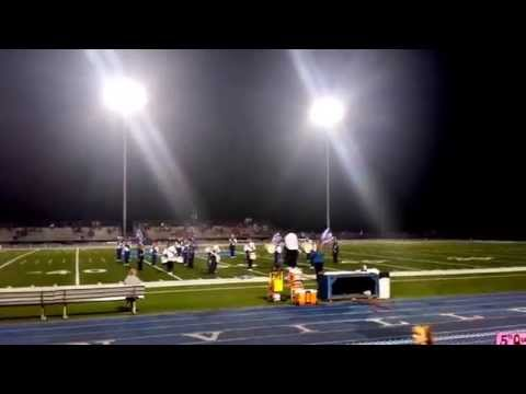 Gilmer County High School Marching Band 2014