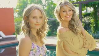 Christie Brinkley & Sailor Brinkley Cook  - How They Mix It Up for Spring