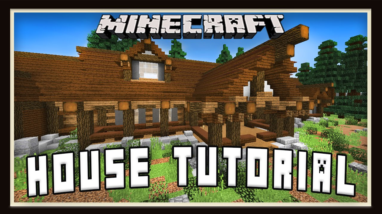 Minecraft Tutorial How To Build A House Roof Design Part 3 Youtube