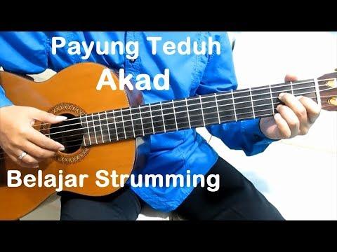 (Genjrengan) Akad Payung Teduh - Belajar Gitar Strumming Untuk Pemula