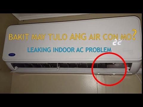 INDOOR AC WATER LEAKS, REPAIR AND CLEANING OF CARRIER SPLIT TYPE INVERTER