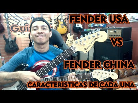 fender usa vs fender china