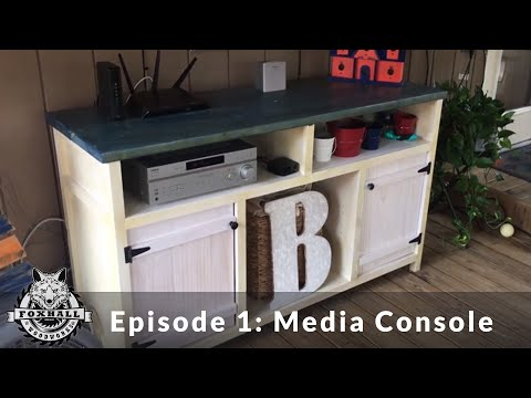DIY | How to Build a Media Console | Ep: 1