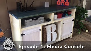 TV Console for our Porch:  Ep. 1