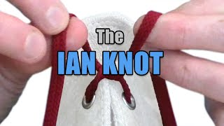 "The ""Ian Knot"", the world's fastest shoelace knot - Professor Shoelace"