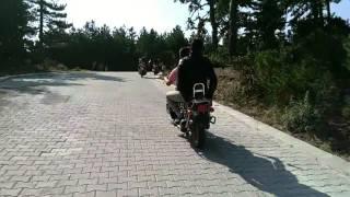 Avgancik köyü hocalar Afyonkarahisar moto cross ak