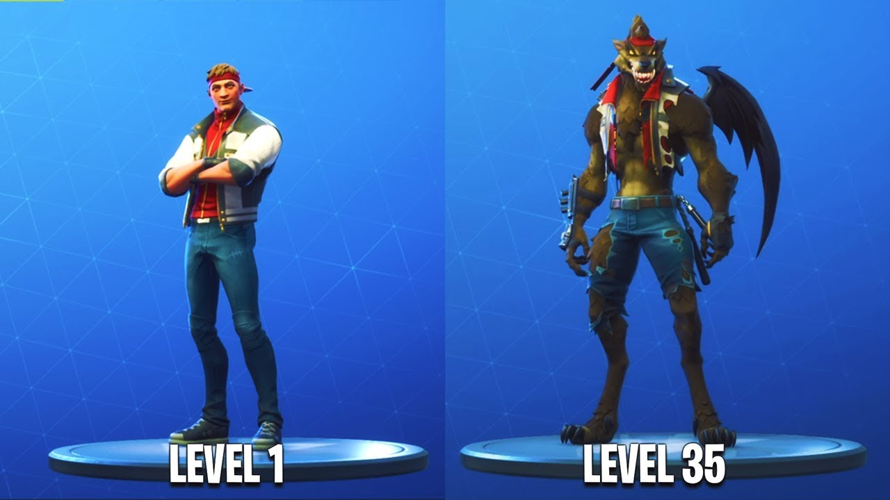Lvl 35 Werewolf Skin Unlocked Stage 3 Dire Skin Gameplay