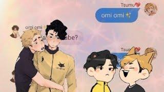 Tsumu's problem 🙁✨?(Sakuatsu fluff)    Haikyuu text