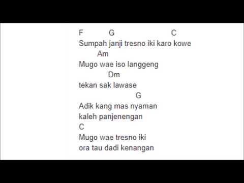 chord lirik kelingan mantan -  jihan audy cover monata