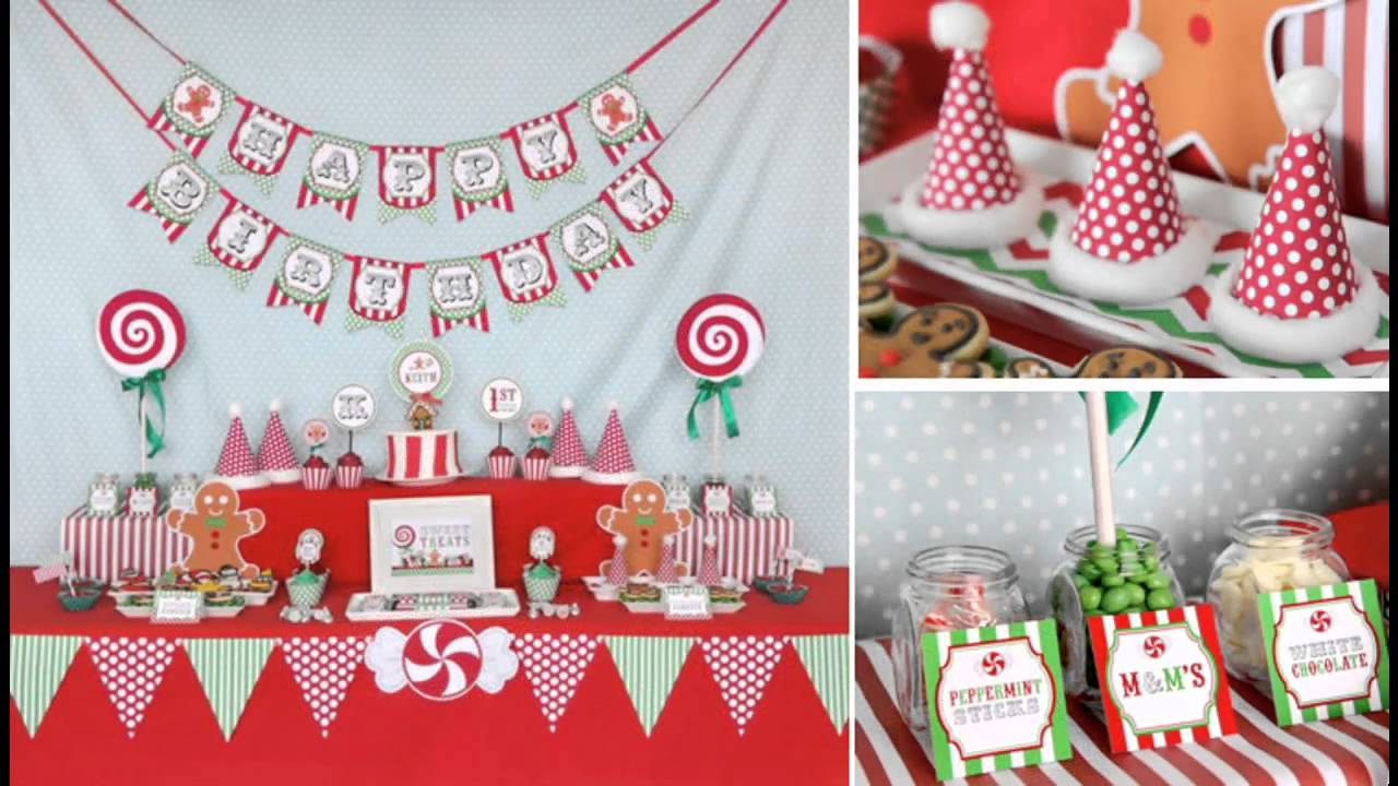 wonderful kids christmas party decorations ideas youtube - Childrens Christmas Party Decoration Ideas