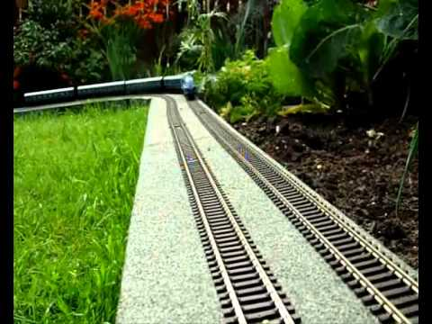 Woodend 00 Scale Garden Railway