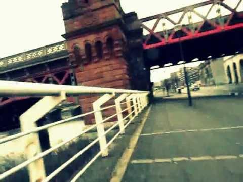 City centre of Glasgow