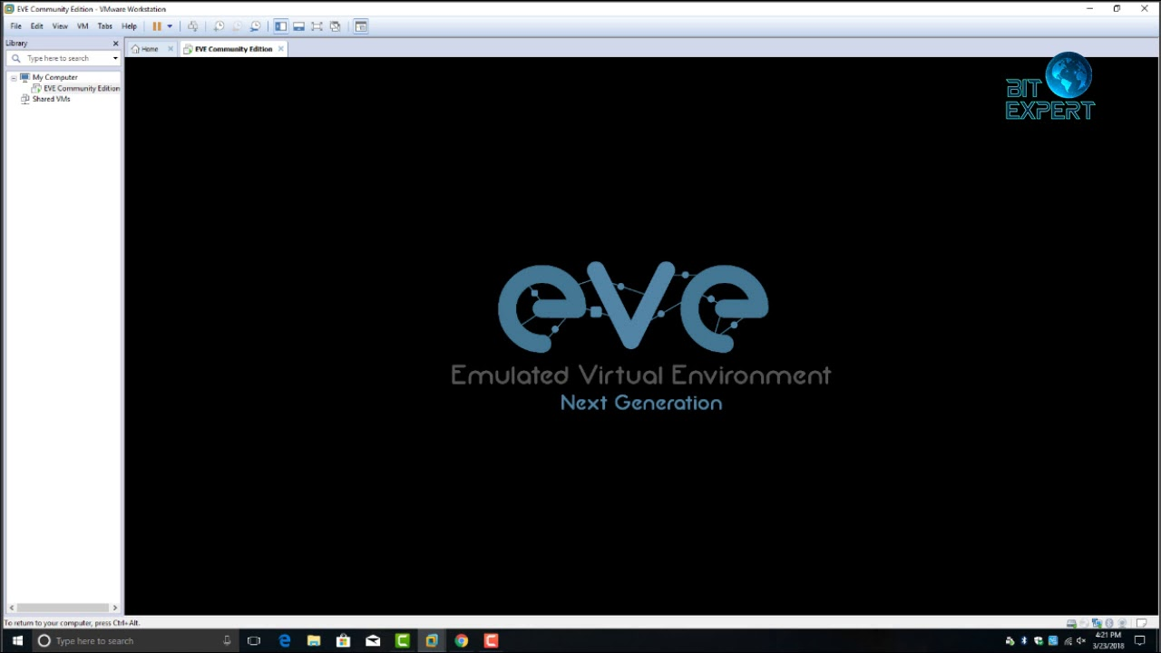 Initial EVE-NG config How to install and configure EVE-NG on Windows 10  VMware, Install EVE-NG