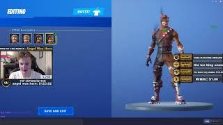 New Burnt Merry Marauder Skin - Fortnite Battle Royale