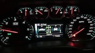 Chevrolet Silverado HIDDEN / SECRET Dashboard Menu - Off Road Menu 4x4 Chevy 2015 2016 2017 2018