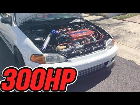 Problematic EG   Turbo Honda Civic B16A 300hp
