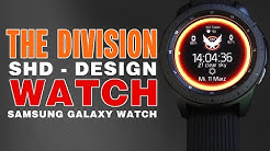 The Division Watch - Uhr im SHD The Division Design - Galaxy Watch Face The Division Facer